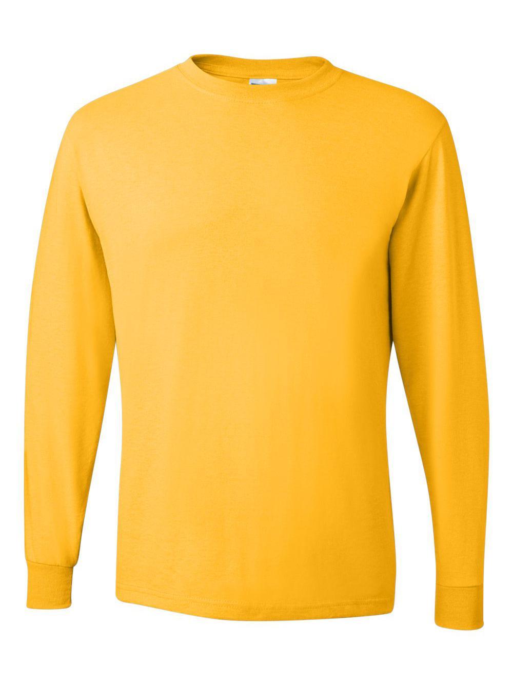 Jerzees-Dri-Power-Long-Sleeve-50-50-T-Shirt-29LSR thumbnail 42