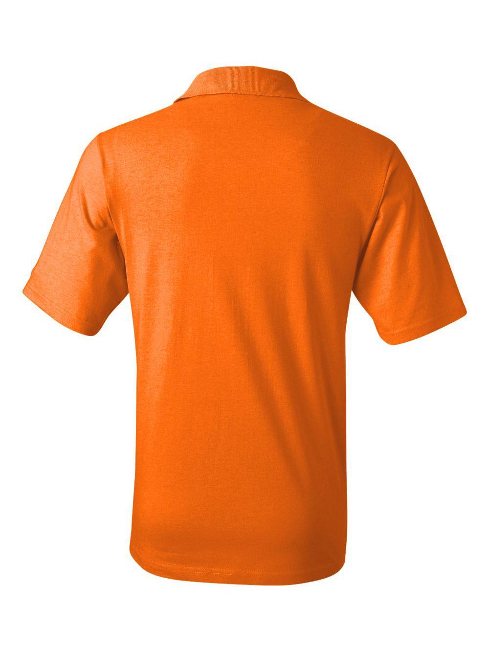 Jerzees Spotshield 5050 Jersey Knit Pocket Polo Shirt 436mpr