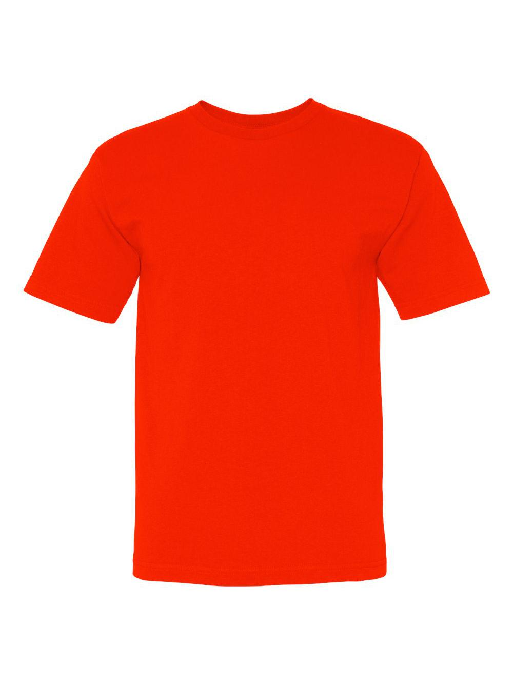 Bayside-USA-Made-100-Cotton-Short-Sleeve-T-Shirt-5040 thumbnail 6