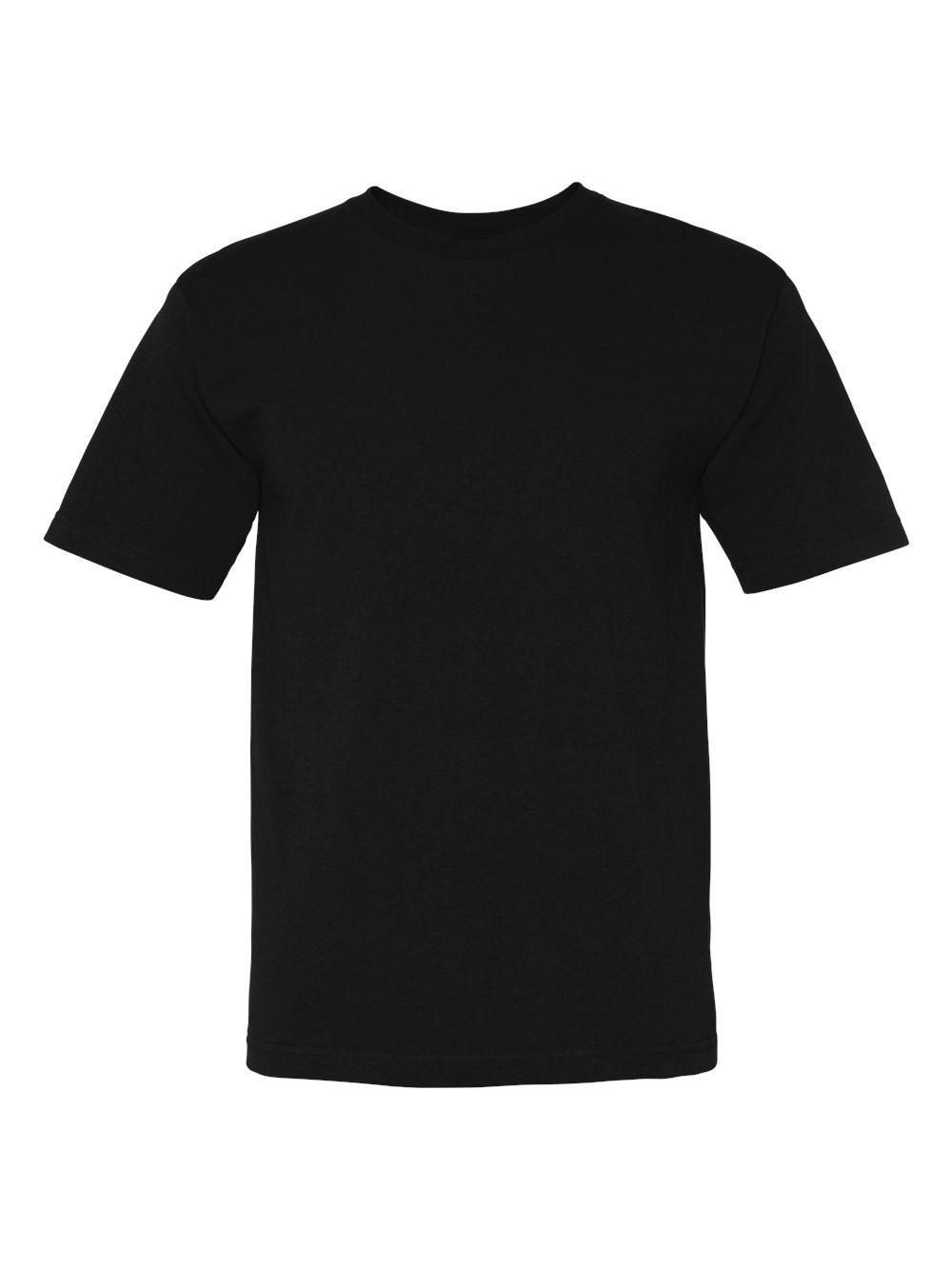 Bayside-USA-Made-100-Cotton-Short-Sleeve-T-Shirt-5040 thumbnail 3