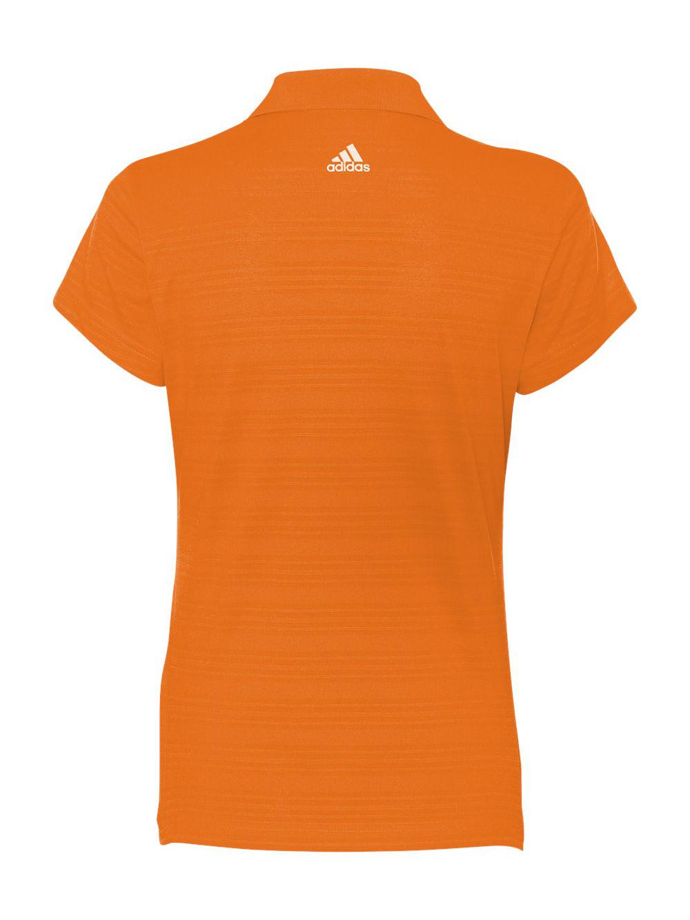 Adidas-Golf-Women-039-s-ClimaLite-Textured-Short-Sleeve-Polo-A162 thumbnail 4