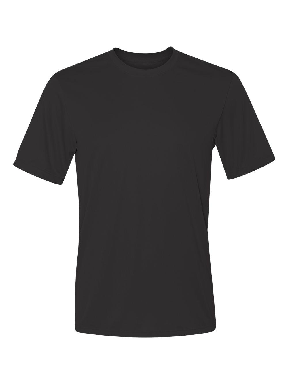 Hanes-Cool-Dri-Performance-Short-Sleeve-T-Shirt-4820 thumbnail 3