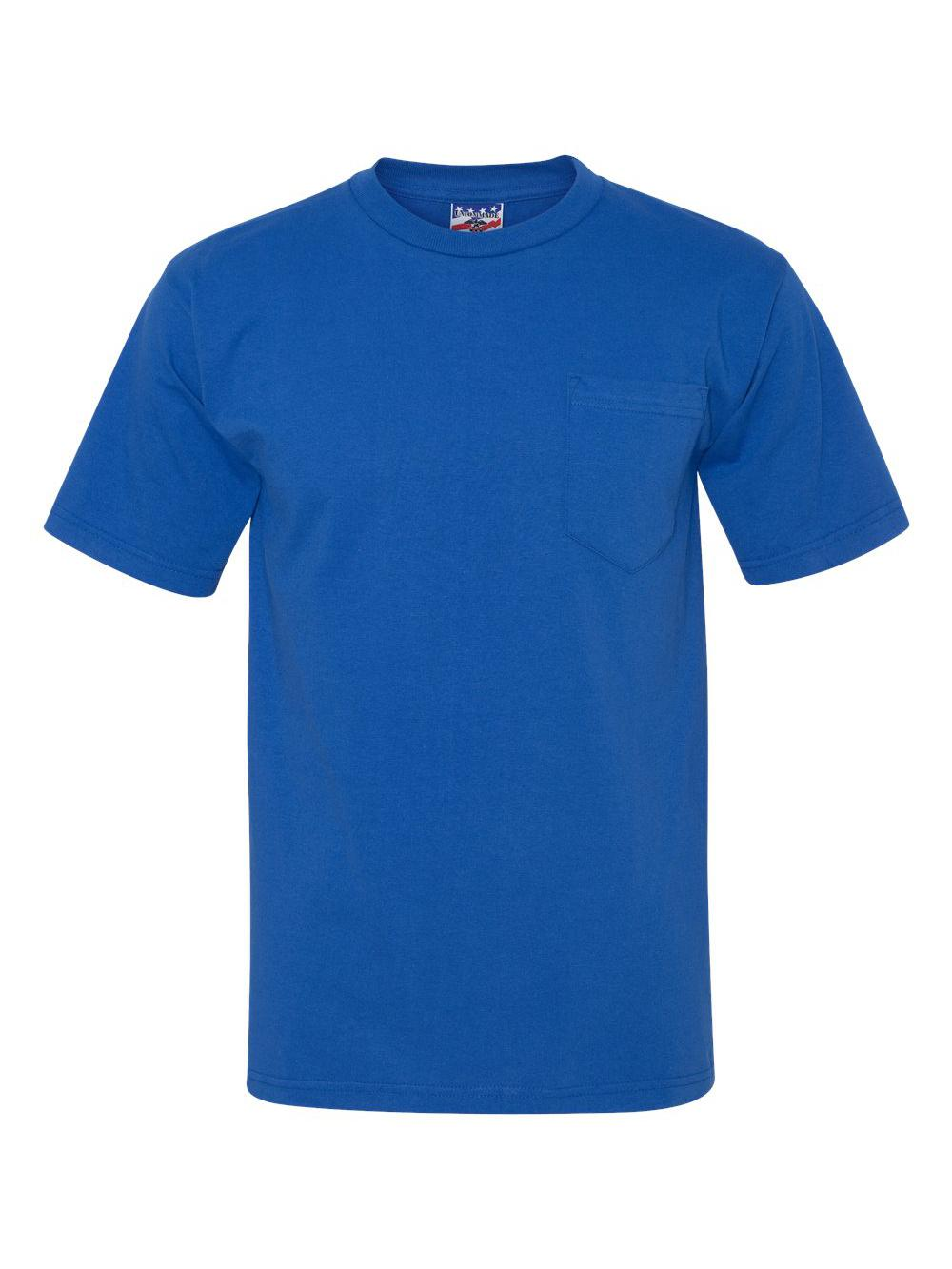 Bayside-Union-Made-Short-Sleeve-T-Shirt-with-a-Pocket-3015 thumbnail 27