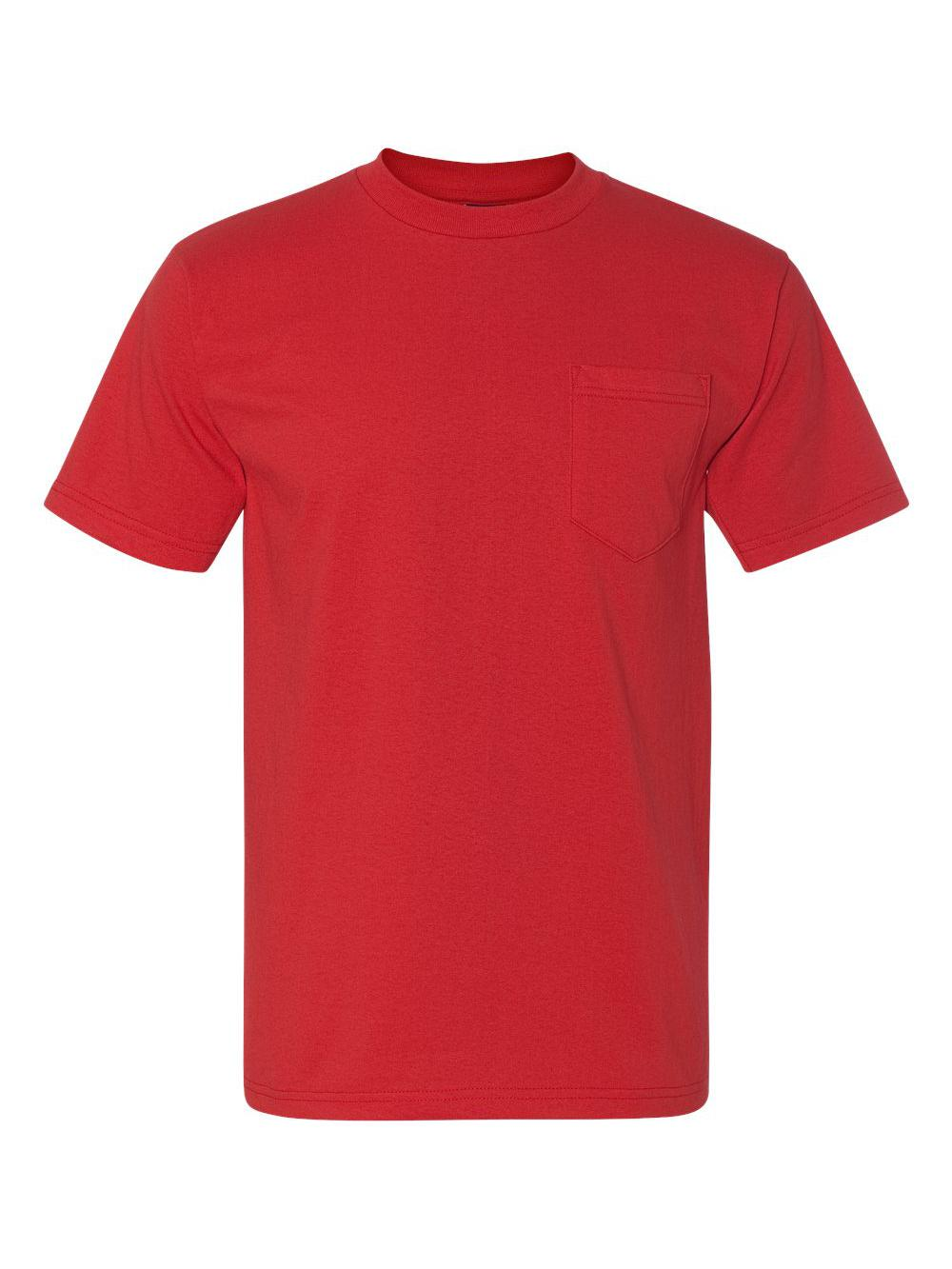 Bayside-Union-Made-Short-Sleeve-T-Shirt-with-a-Pocket-3015 thumbnail 24