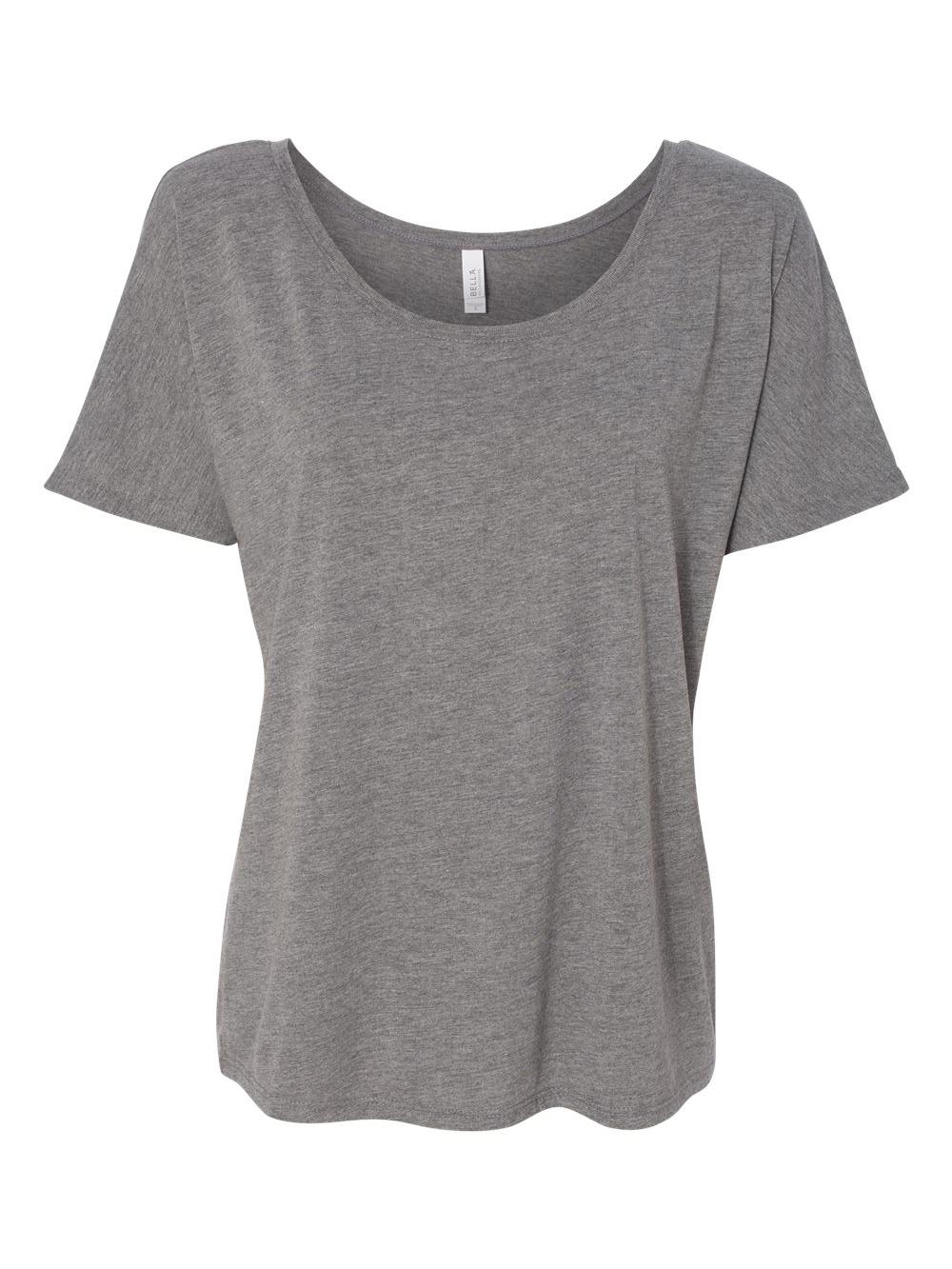 Bella-Canvas-Women-039-s-Slouchy-Tee-8816 thumbnail 30