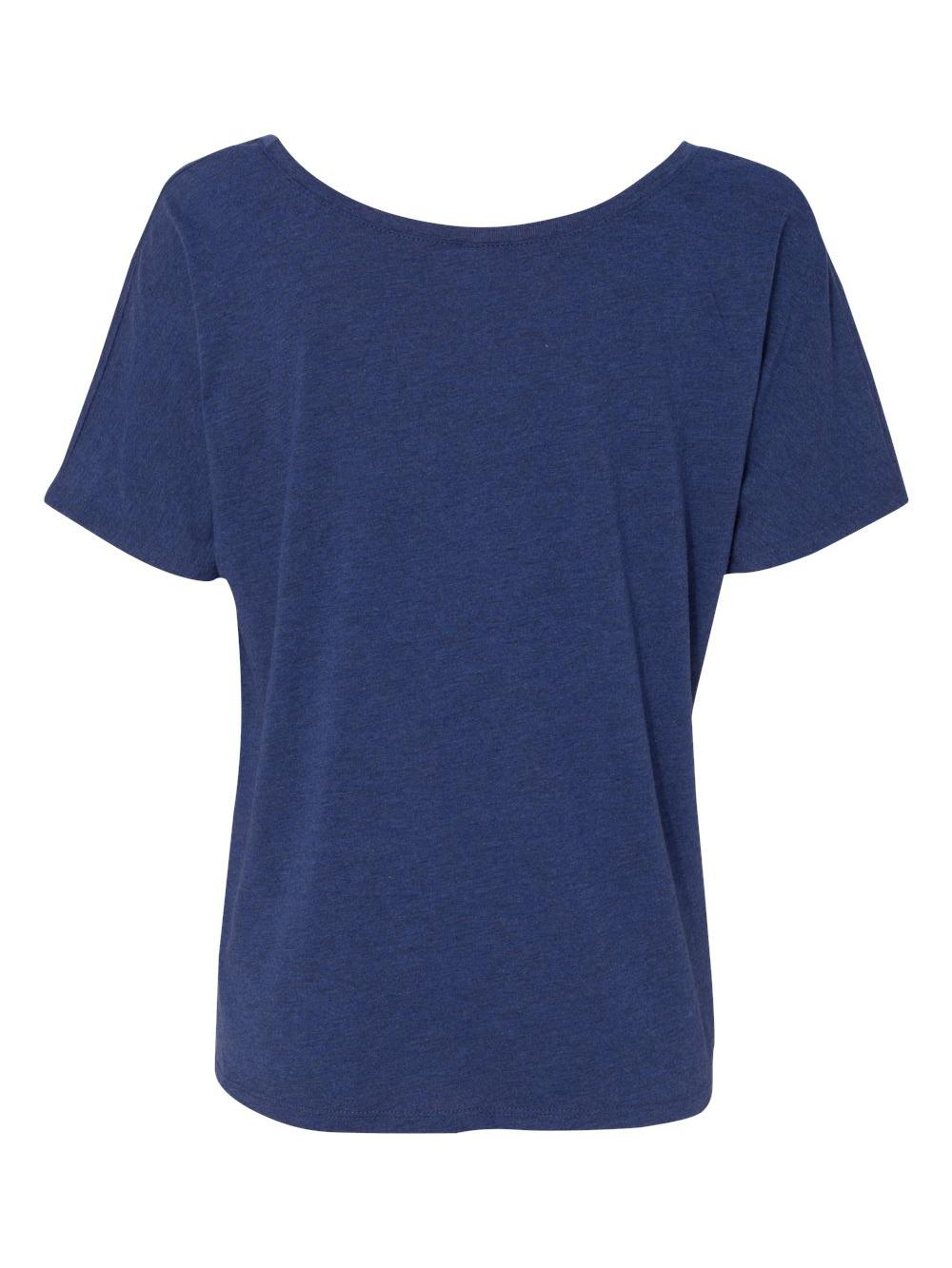 Bella-Canvas-Women-039-s-Slouchy-Tee-8816 thumbnail 46