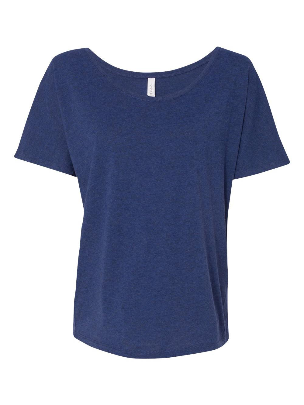 Bella-Canvas-Women-039-s-Slouchy-Tee-8816 thumbnail 45