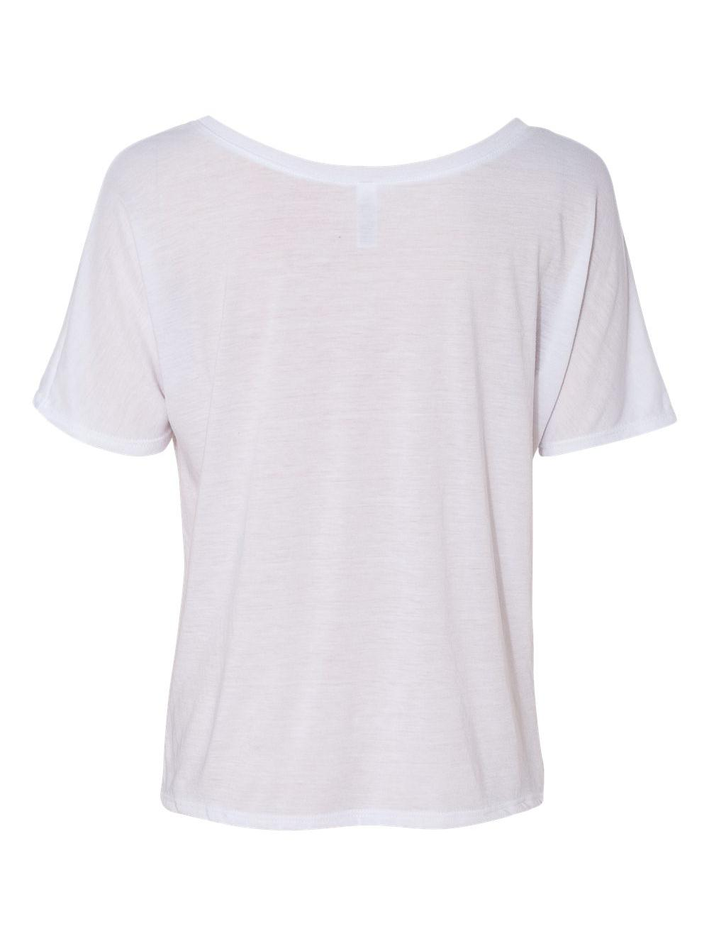 Bella-Canvas-Women-039-s-Slouchy-Tee-8816 thumbnail 55