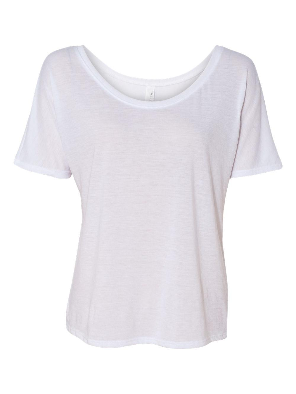 Bella-Canvas-Women-039-s-Slouchy-Tee-8816 thumbnail 54