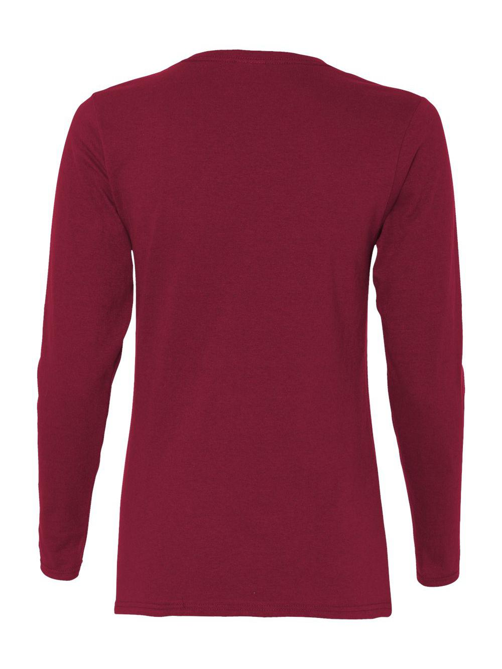 Gildan-Heavy-Cotton-Women-039-s-Long-Sleeve-T-Shirt-5400L thumbnail 7