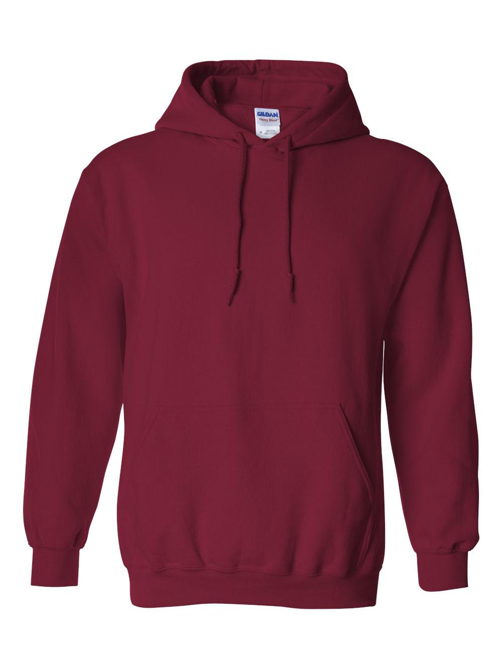 Gildan-Heavy-Blend-Hooded-Sweatshirt-18500 miniatura 15