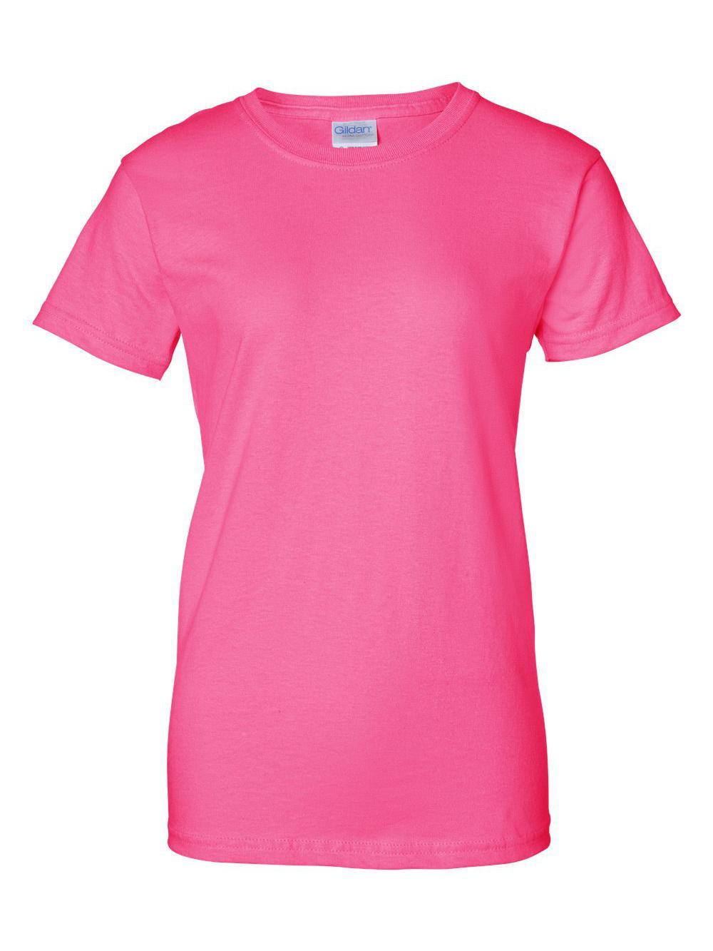 Gildan-Ultra-Cotton-Women-039-s-T-Shirt-2000L thumbnail 60