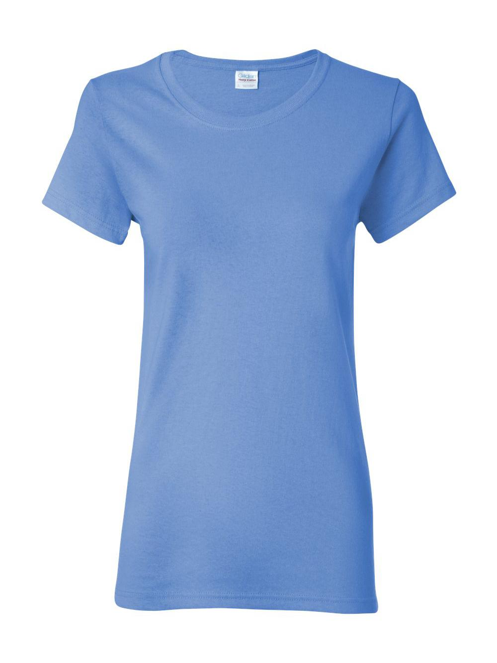 Gildan-Heavy-Cotton-Women-039-s-Short-Sleeve-T-Shirt-5000L thumbnail 21