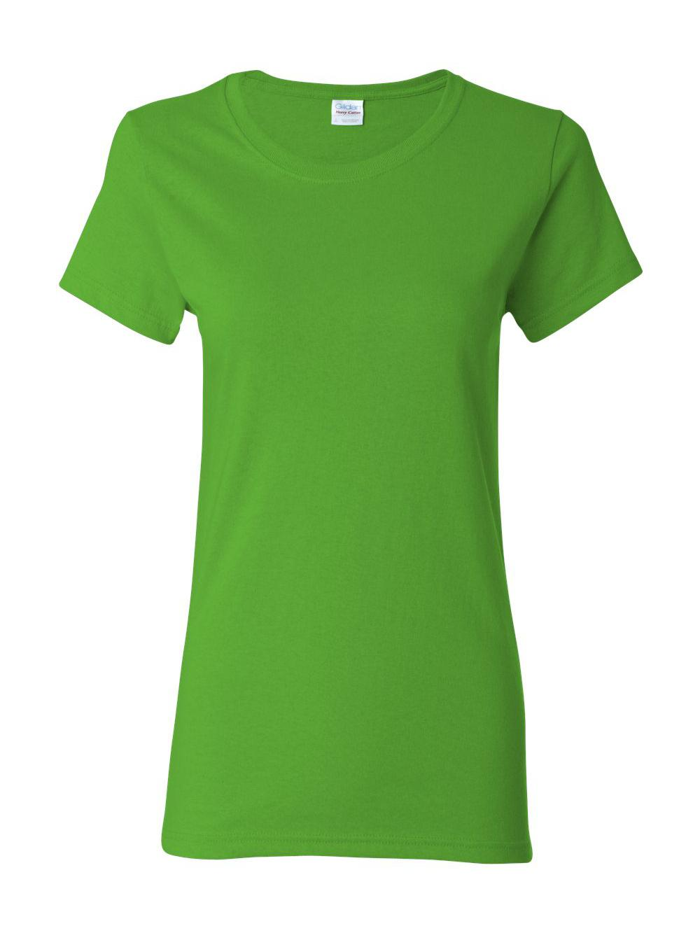Gildan-Heavy-Cotton-Women-039-s-Short-Sleeve-T-Shirt-5000L thumbnail 36