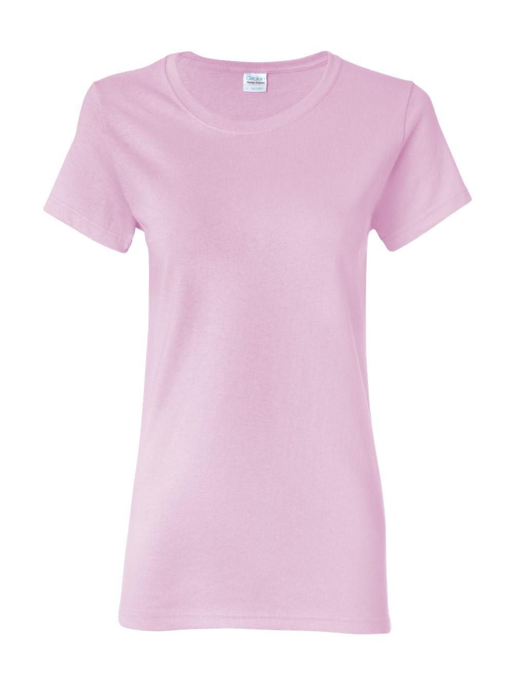 Gildan-Heavy-Cotton-Women-039-s-Short-Sleeve-T-Shirt-5000L thumbnail 69
