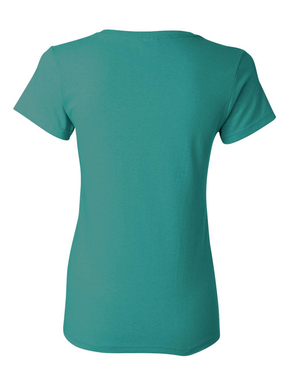 Gildan-Heavy-Cotton-Women-039-s-Short-Sleeve-T-Shirt-5000L thumbnail 116