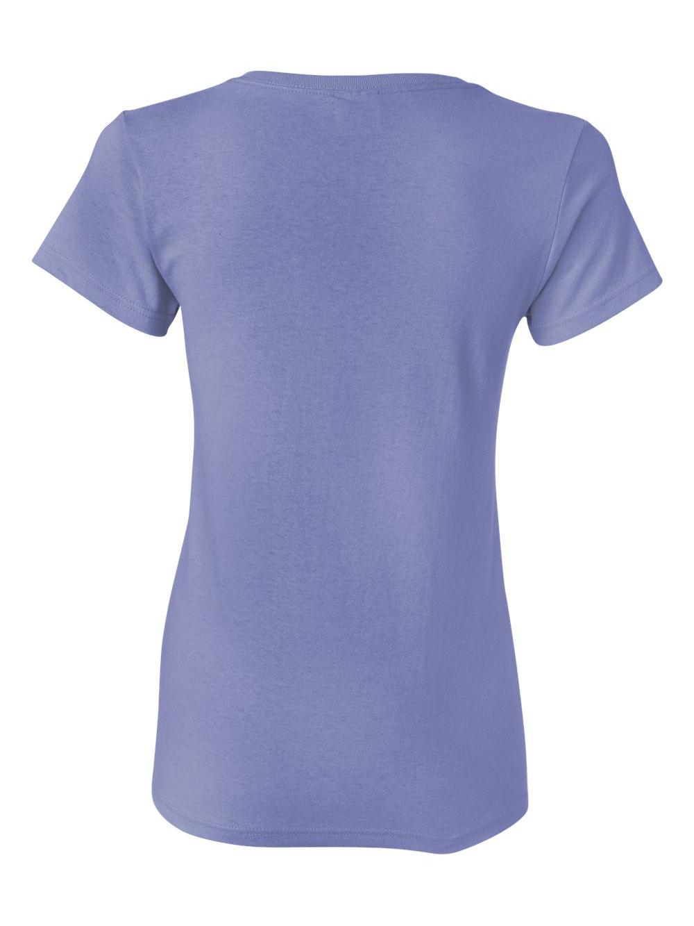 Gildan-Heavy-Cotton-Women-039-s-Short-Sleeve-T-Shirt-5000L thumbnail 115