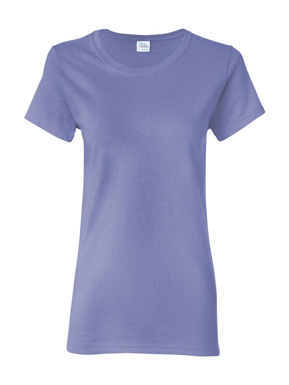 Gildan-Heavy-Cotton-Women-039-s-Short-Sleeve-T-Shirt-5000L thumbnail 114