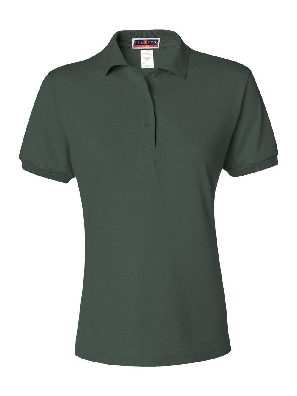 Jerzees-Women-039-s-Spotshield-50-50-Sport-Shirt-437WR thumbnail 12