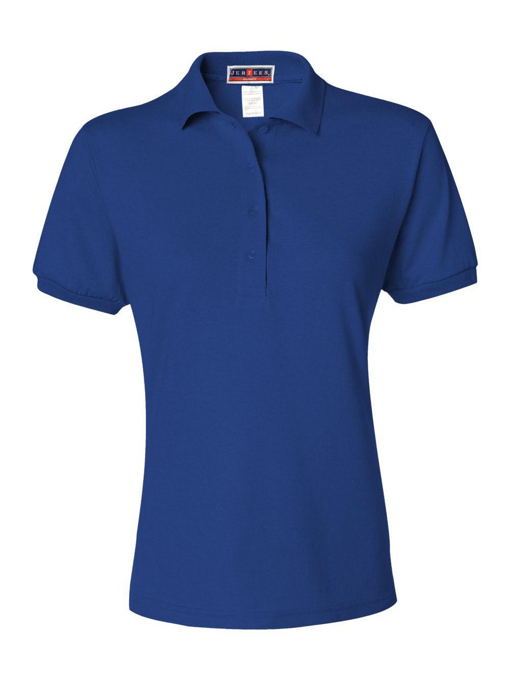 Jerzees-Women-039-s-Spotshield-50-50-Sport-Shirt-437WR thumbnail 30