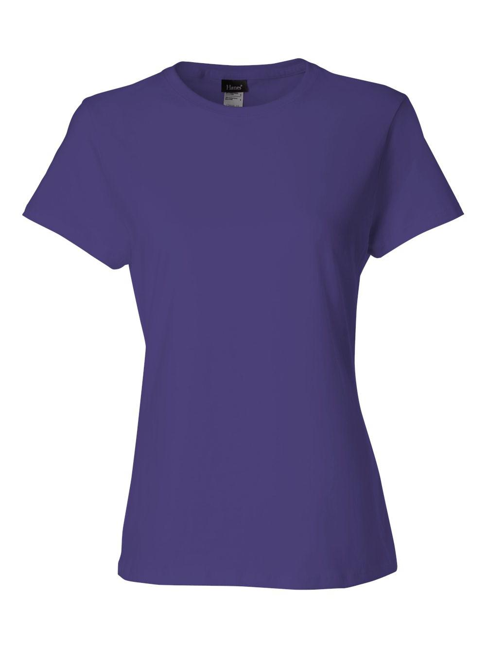 Hanes-Nano-T-Women-039-s-T-Shirt-SL04 thumbnail 33