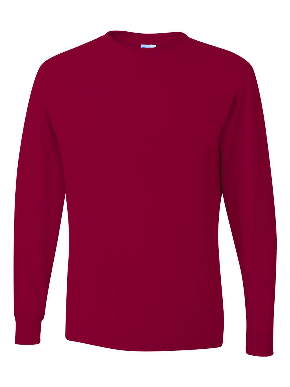 Jerzees-Dri-Power-Long-Sleeve-50-50-T-Shirt-29LSR thumbnail 21