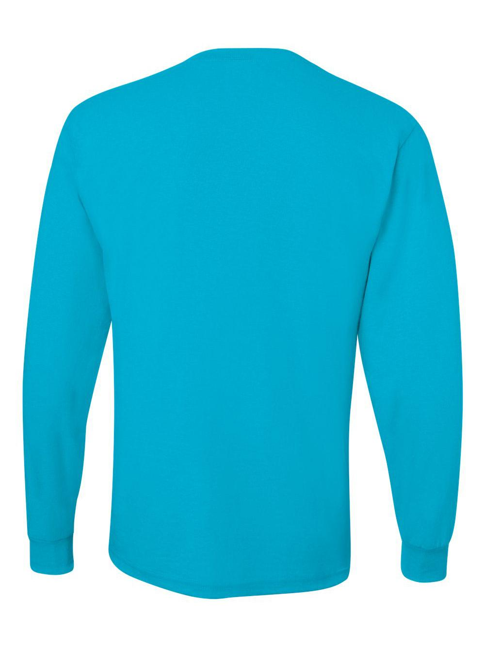 Jerzees-Dri-Power-Long-Sleeve-50-50-T-Shirt-29LSR thumbnail 19