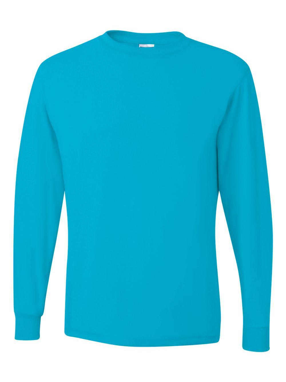 Jerzees-Dri-Power-Long-Sleeve-50-50-T-Shirt-29LSR thumbnail 18