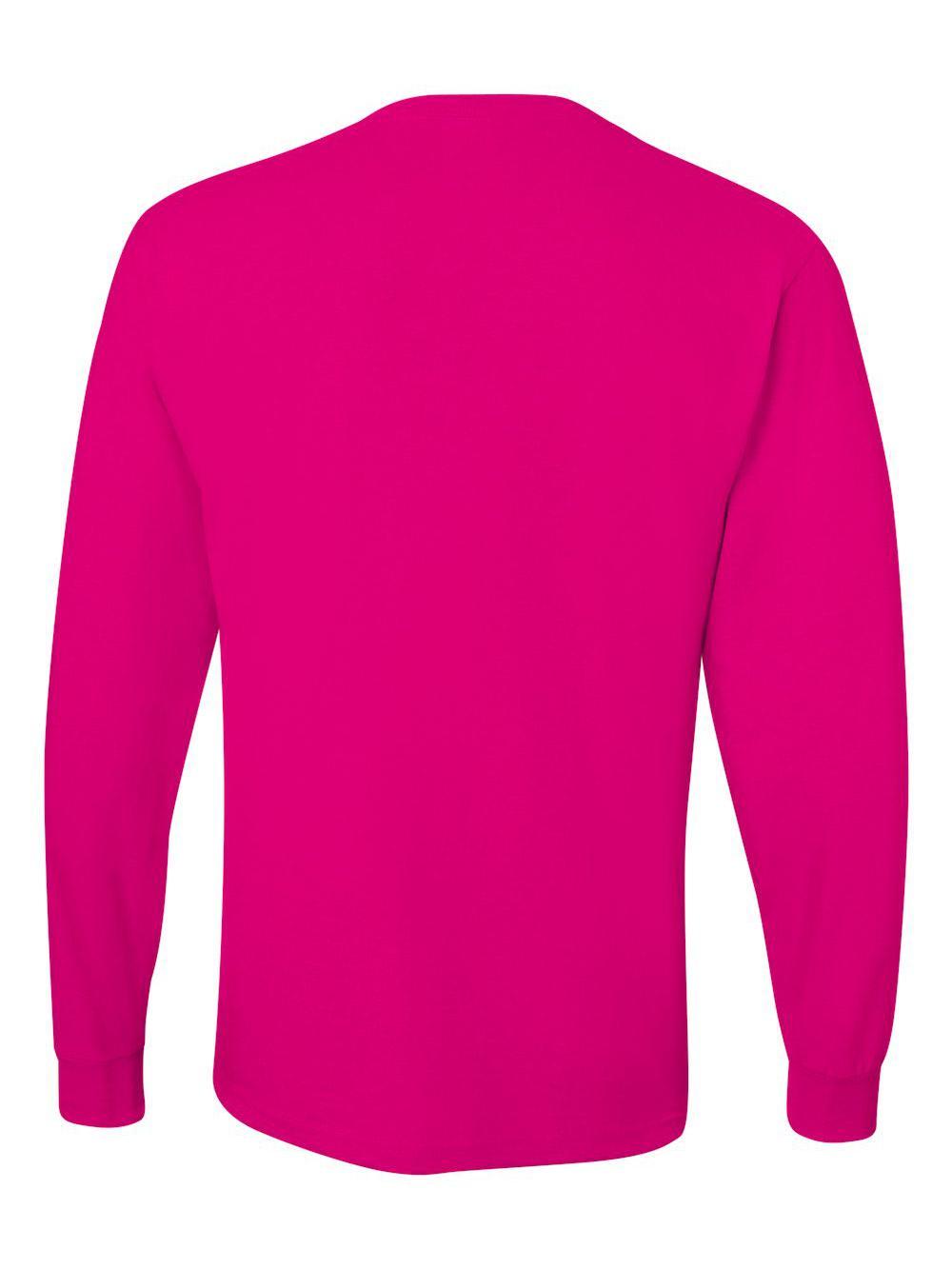 Jerzees-Dri-Power-Long-Sleeve-50-50-T-Shirt-29LSR thumbnail 31