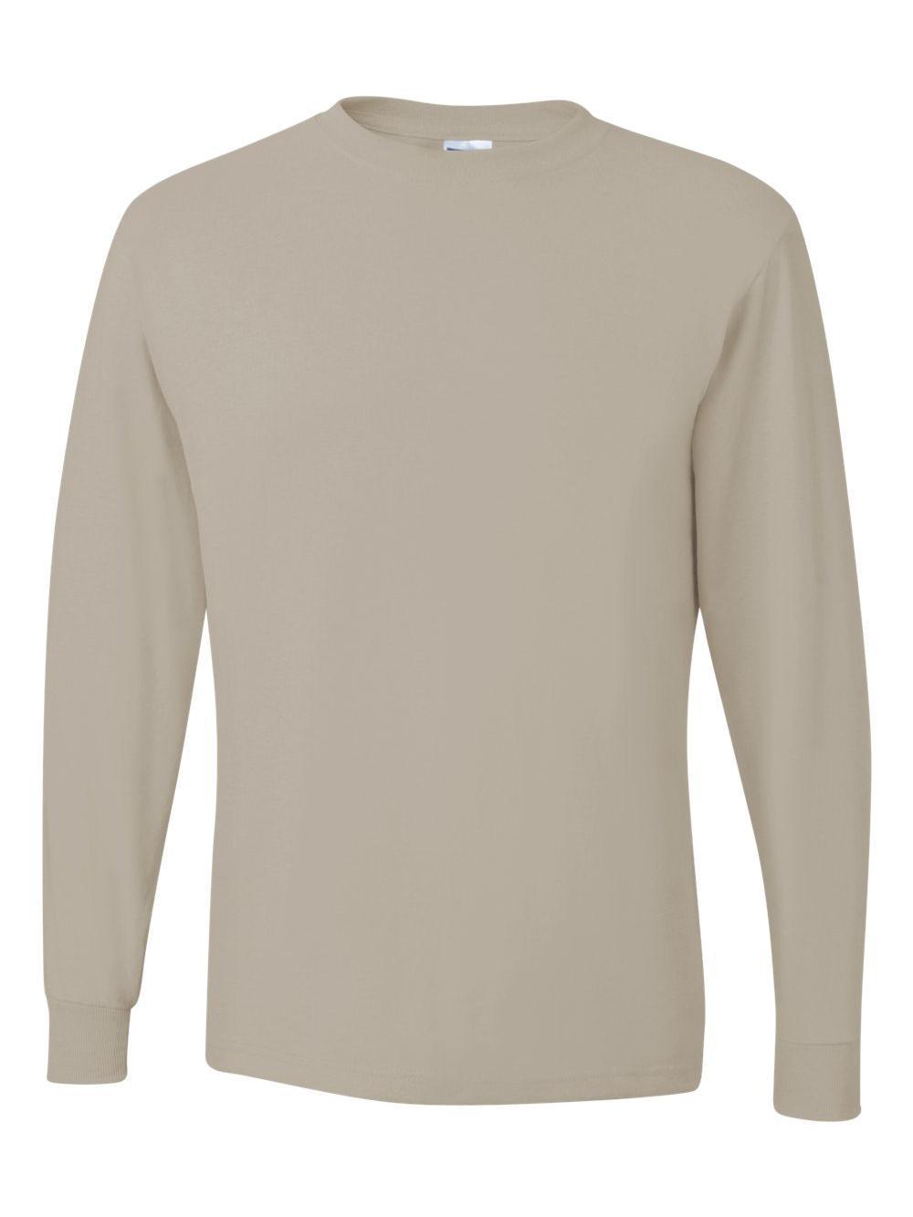 Jerzees-Dri-Power-Long-Sleeve-50-50-T-Shirt-29LSR thumbnail 78