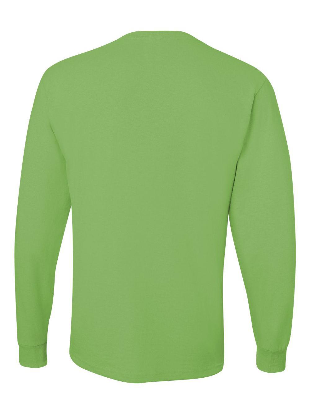 Jerzees-Dri-Power-Long-Sleeve-50-50-T-Shirt-29LSR thumbnail 52
