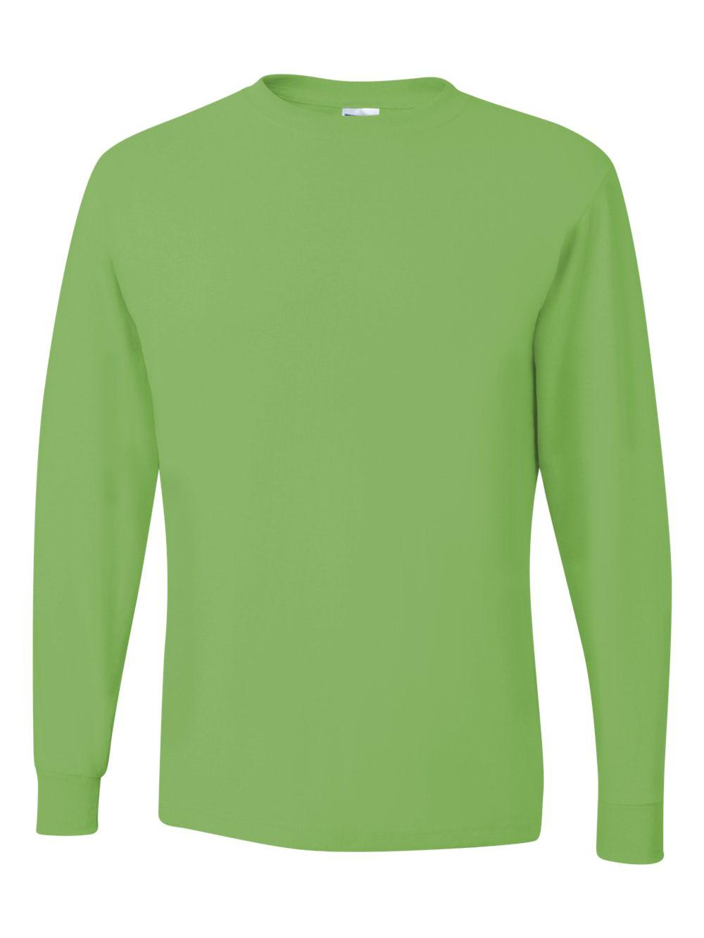 Jerzees-Dri-Power-Long-Sleeve-50-50-T-Shirt-29LSR thumbnail 51