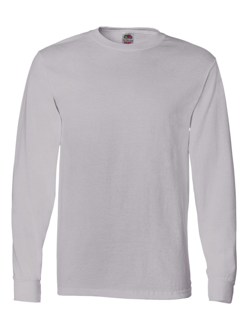 Fruit-of-the-Loom-HD-Cotton-Long-Sleeve-T-Shirt-4930R thumbnail 72