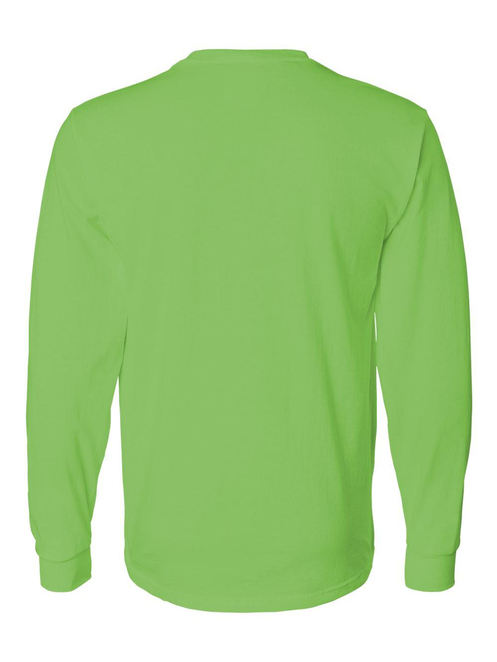 Fruit-of-the-Loom-HD-Cotton-Long-Sleeve-T-Shirt-4930R thumbnail 46