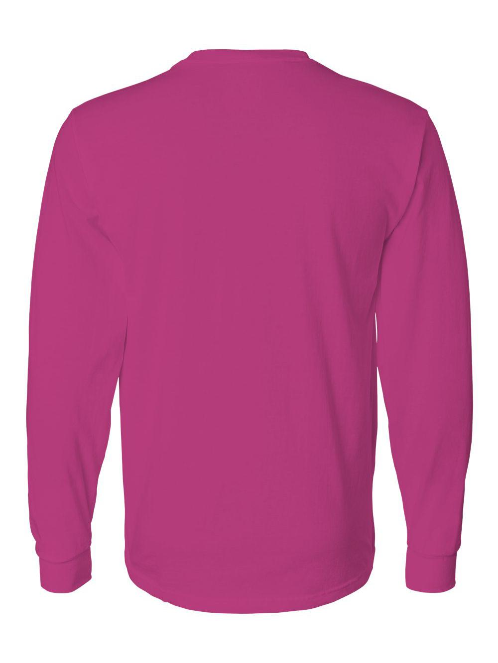 Fruit-of-the-Loom-HD-Cotton-Long-Sleeve-T-Shirt-4930R thumbnail 31