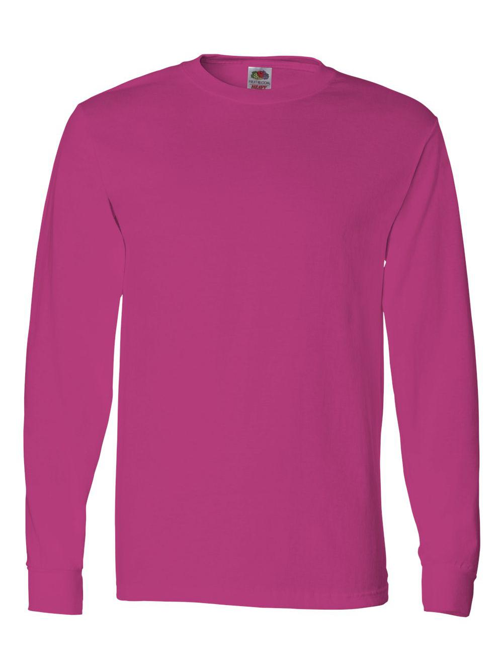 Fruit-of-the-Loom-HD-Cotton-Long-Sleeve-T-Shirt-4930R thumbnail 30