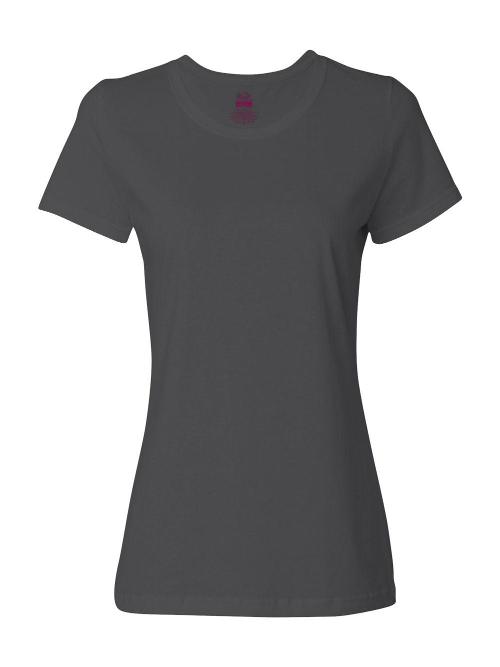 Fruit-of-the-Loom-HD-Cotton-Women-039-s-Short-Sleeve-T-Shirt-L3930R thumbnail 9
