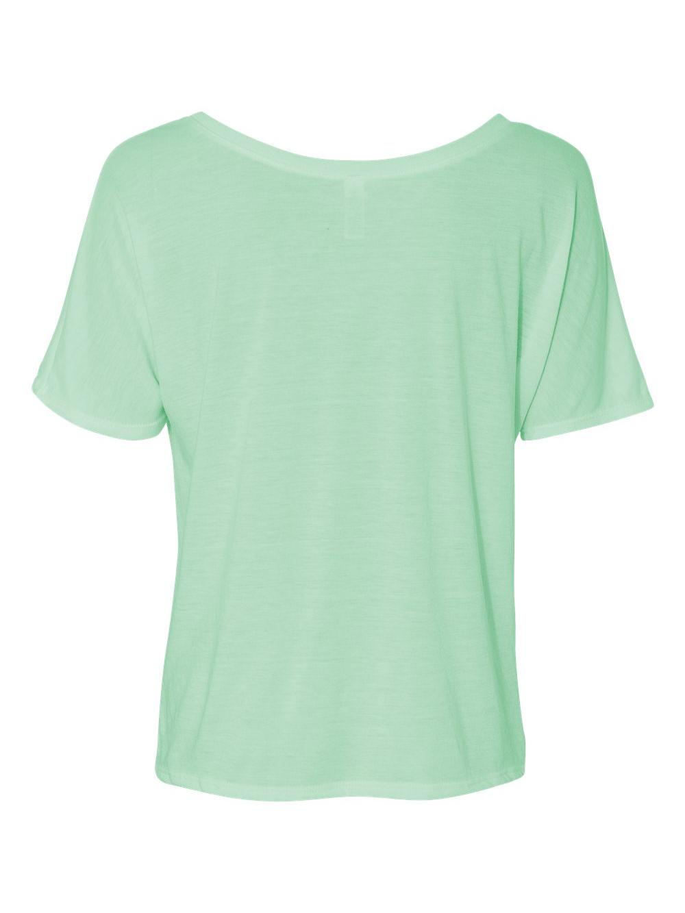 Bella-Canvas-Women-039-s-Slouchy-Tee-8816 thumbnail 43