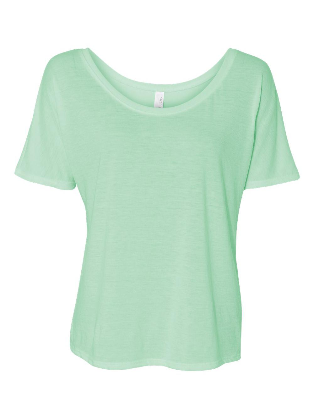 Bella-Canvas-Women-039-s-Slouchy-Tee-8816 thumbnail 42