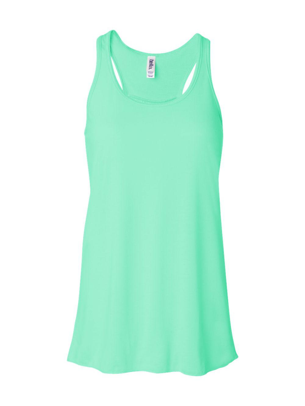 Bella-Canvas-Women-039-s-Flowy-Racerback-Tank-8800 thumbnail 69