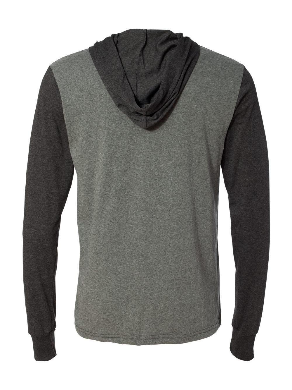 Bella-Canvas-Unisex-Long-Sleeve-Jersey-Hooded-Tee-3512 thumbnail 16