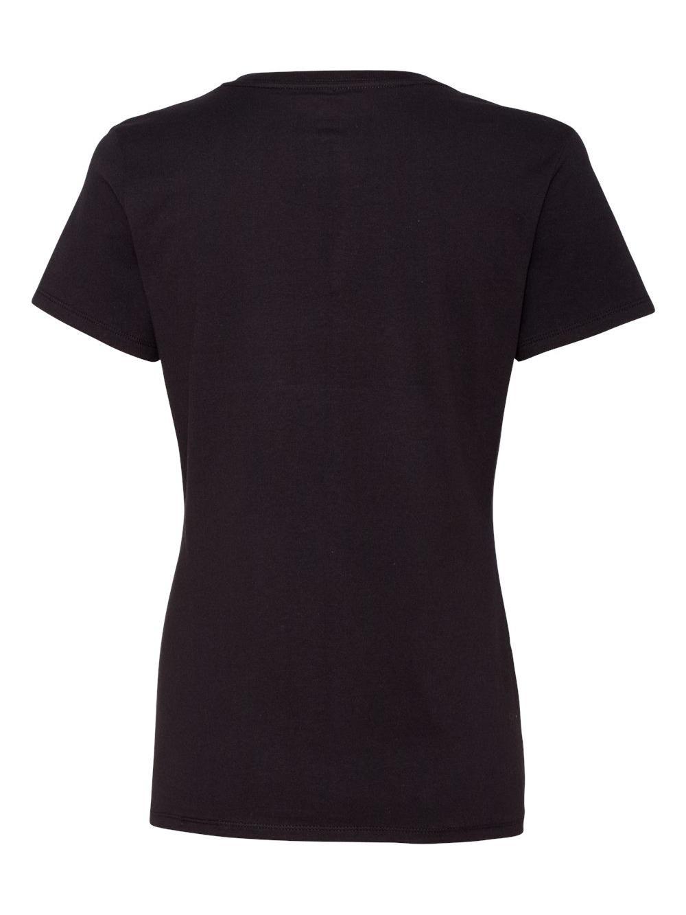 Hanes-Nano-T-Women-039-s-V-Neck-T-Shirt-S04V thumbnail 7