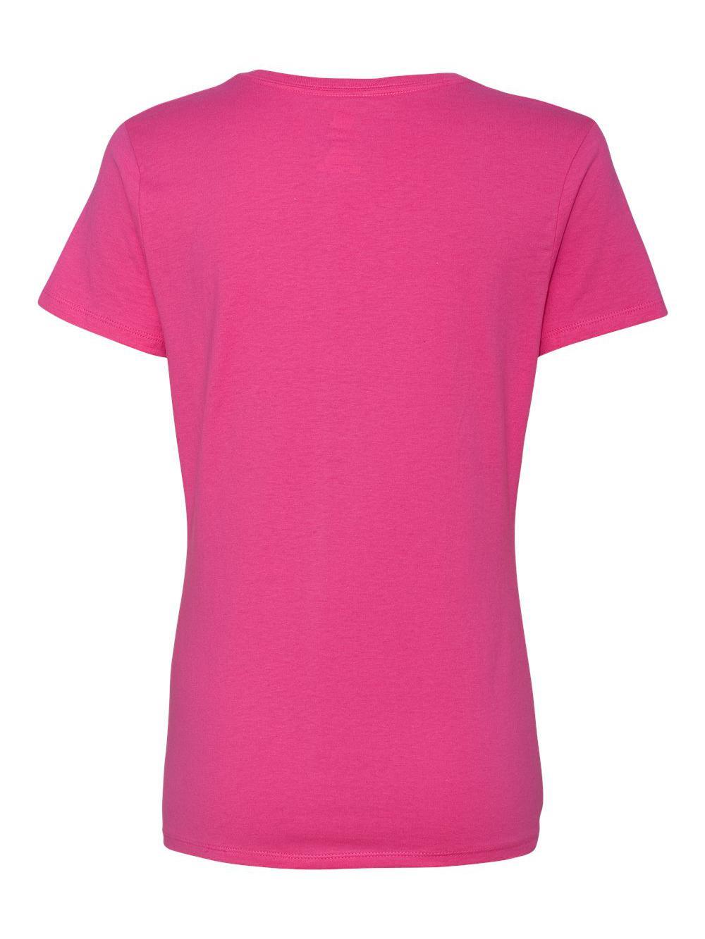 Hanes-Nano-T-Women-039-s-V-Neck-T-Shirt-S04V thumbnail 37