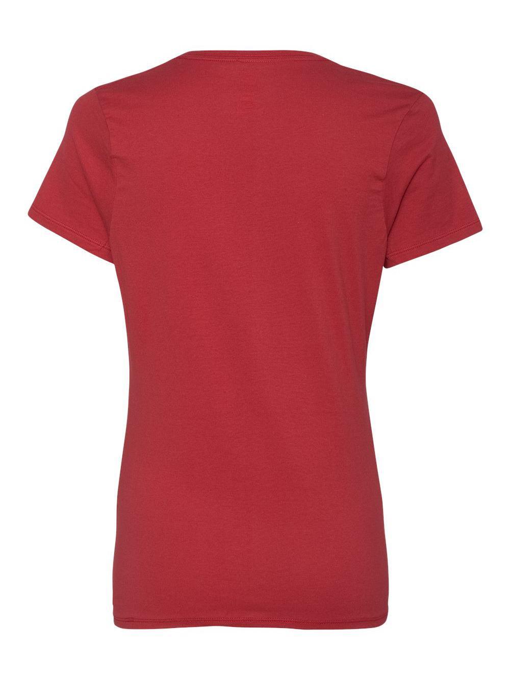 Hanes-Nano-T-Women-039-s-V-Neck-T-Shirt-S04V thumbnail 31