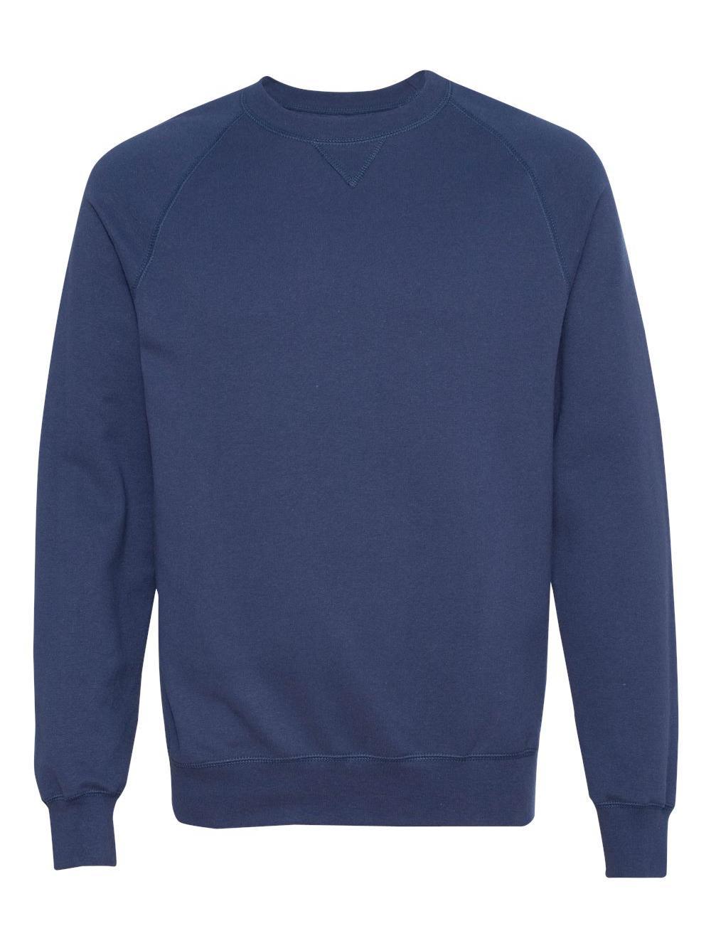 Hanes Mens Nano Premium Lightweight Crewneck Sweatshirt N260 Vintage ... 735a7f22a