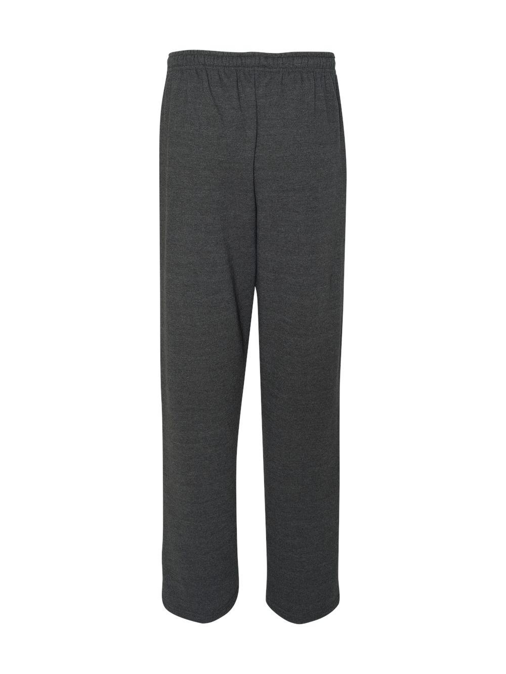 Gildan-Heavy-Blend-Open-Bottom-Sweatpants-18400 thumbnail 13