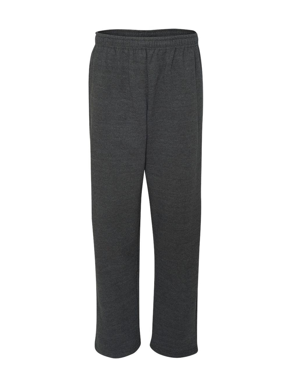Gildan-Heavy-Blend-Open-Bottom-Sweatpants-18400 thumbnail 12
