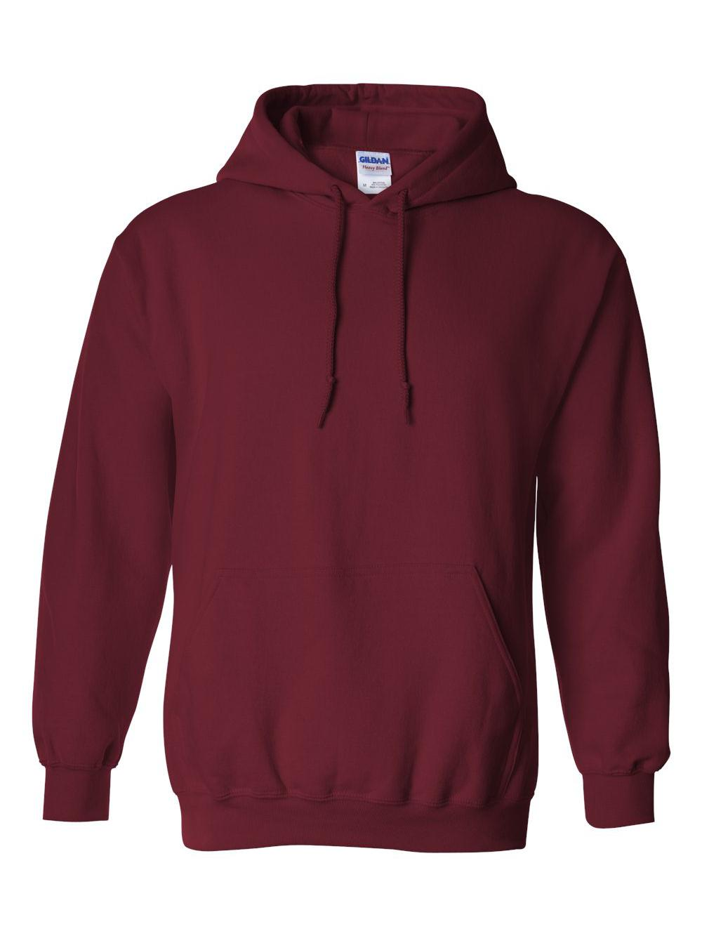 Gildan-Heavy-Blend-Hooded-Sweatshirt-18500 miniatura 36