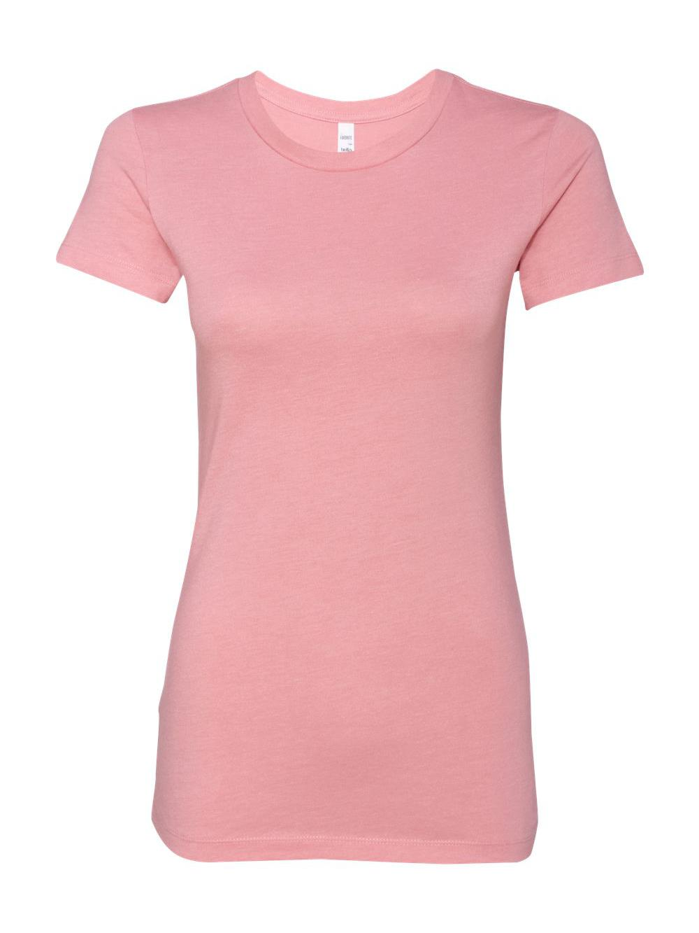 Bella-Canvas-Women-039-s-The-Favorite-Tee-6004 thumbnail 66