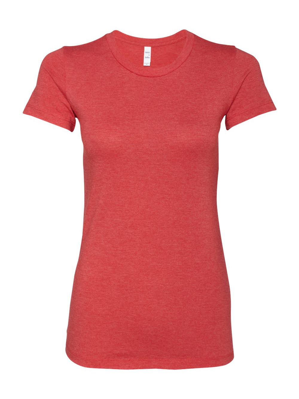 Bella-Canvas-Women-039-s-The-Favorite-Tee-6004 thumbnail 69